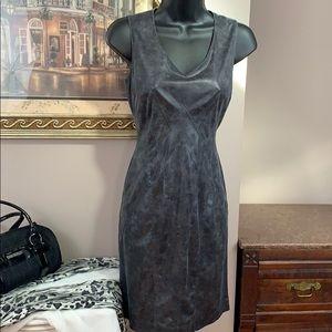 Vince Camuto Vegan Leather Dress Sz 2 NWOT